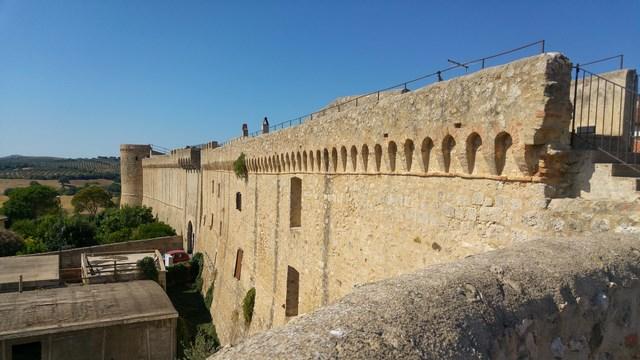 Vista dalle mura di Magliano