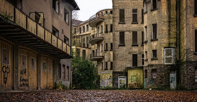 luogo abbandonato